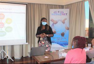 Susan Masila, KEWASNET Programme Support Specialist